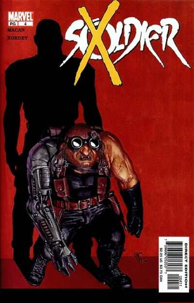 Soldier X #4 comic books - cover scans photos Soldier X #4 comic books - covers, picture gallery