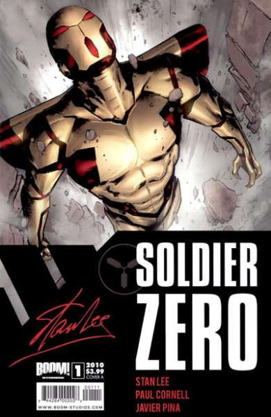 Soldier Zero #1 comic books - cover scans photos Soldier Zero #1 comic books - covers, picture gallery