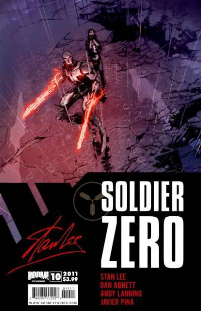 Soldier Zero #10 comic books for sale