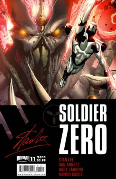 Soldier Zero #11 comic books for sale