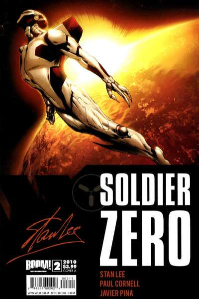 Soldier Zero #2 comic books for sale