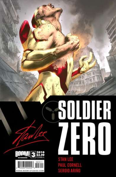 Soldier Zero #3 comic books for sale