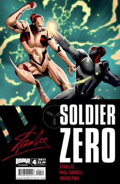 Soldier Zero #4 comic books for sale