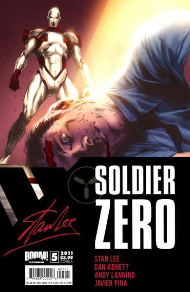 Soldier Zero #5 comic books - cover scans photos Soldier Zero #5 comic books - covers, picture gallery