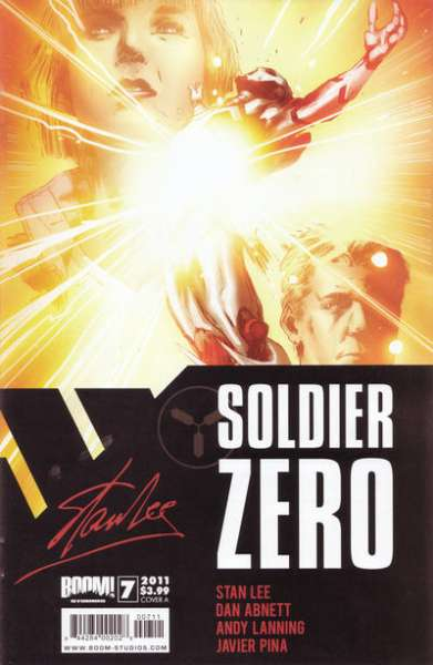 Soldier Zero #7 comic books - cover scans photos Soldier Zero #7 comic books - covers, picture gallery