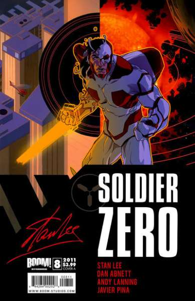 Soldier Zero #8 comic books for sale