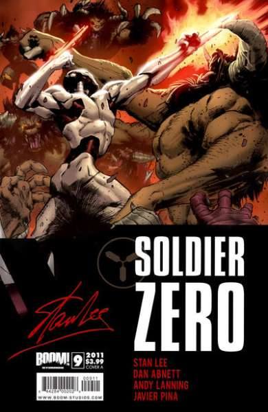 Soldier Zero #9 comic books - cover scans photos Soldier Zero #9 comic books - covers, picture gallery