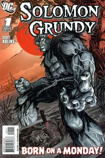 Solomon Grundy #1 comic books - cover scans photos Solomon Grundy #1 comic books - covers, picture gallery