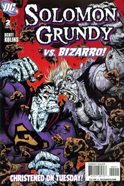 Solomon Grundy #2 comic books - cover scans photos Solomon Grundy #2 comic books - covers, picture gallery