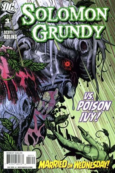 Solomon Grundy #3 comic books - cover scans photos Solomon Grundy #3 comic books - covers, picture gallery