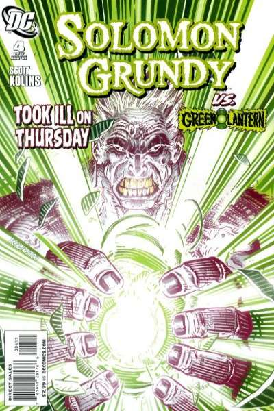 Solomon Grundy #4 comic books - cover scans photos Solomon Grundy #4 comic books - covers, picture gallery