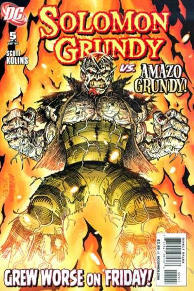 Solomon Grundy #5 comic books - cover scans photos Solomon Grundy #5 comic books - covers, picture gallery