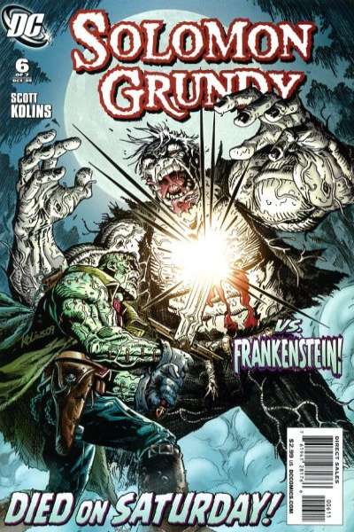 Solomon Grundy #6 Comic Books - Covers, Scans, Photos  in Solomon Grundy Comic Books - Covers, Scans, Gallery
