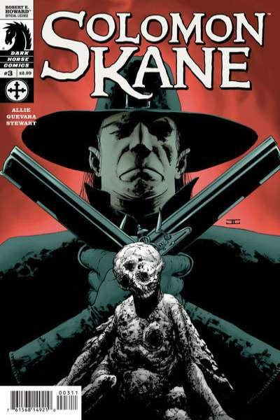 Solomon Kane #3 comic books - cover scans photos Solomon Kane #3 comic books - covers, picture gallery