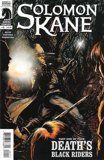 Solomon Kane #1 comic books - cover scans photos Solomon Kane #1 comic books - covers, picture gallery