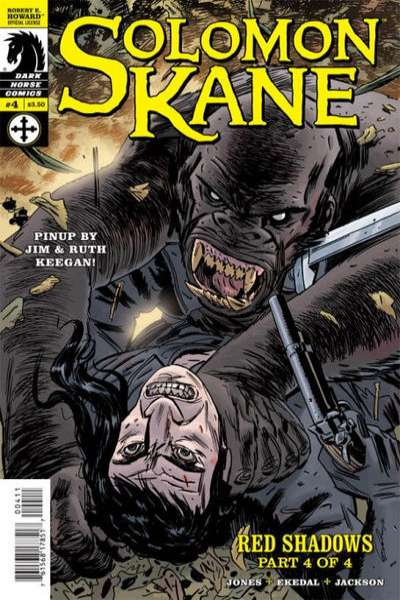 Solomon Kane: Red Shadows #4 comic books for sale