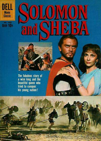 Solomon and Sheba #1 comic books for sale