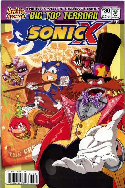 Sonic X #30 comic books for sale
