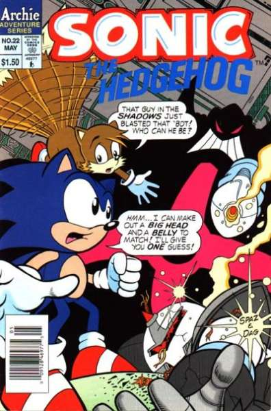 Sonic the Hedgehog #22 Comic Books - Covers, Scans, Photos  in Sonic the Hedgehog Comic Books - Covers, Scans, Gallery