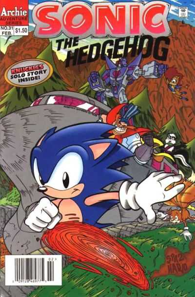 Sonic the Hedgehog #31 Comic Books - Covers, Scans, Photos  in Sonic the Hedgehog Comic Books - Covers, Scans, Gallery