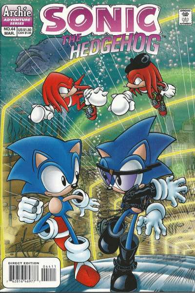 Sonic the Hedgehog #44 Comic Books - Covers, Scans, Photos  in Sonic the Hedgehog Comic Books - Covers, Scans, Gallery