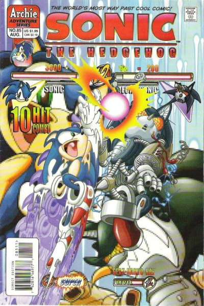 Sonic the Hedgehog #85 comic books for sale