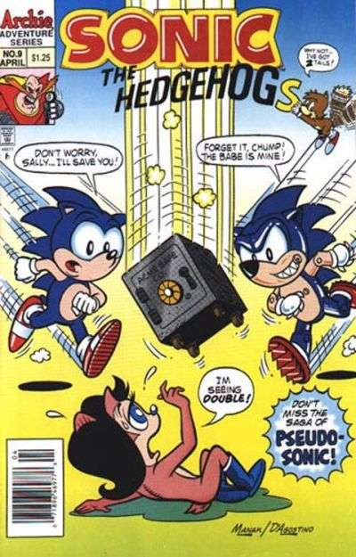 Sonic the Hedgehog #9 Comic Books - Covers, Scans, Photos  in Sonic the Hedgehog Comic Books - Covers, Scans, Gallery