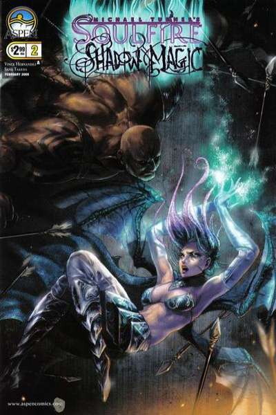 Soulfire: Shadow Magic #2 comic books - cover scans photos Soulfire: Shadow Magic #2 comic books - covers, picture gallery