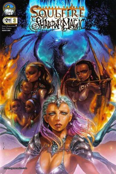 Soulfire: Shadow Magic #3 comic books - cover scans photos Soulfire: Shadow Magic #3 comic books - covers, picture gallery