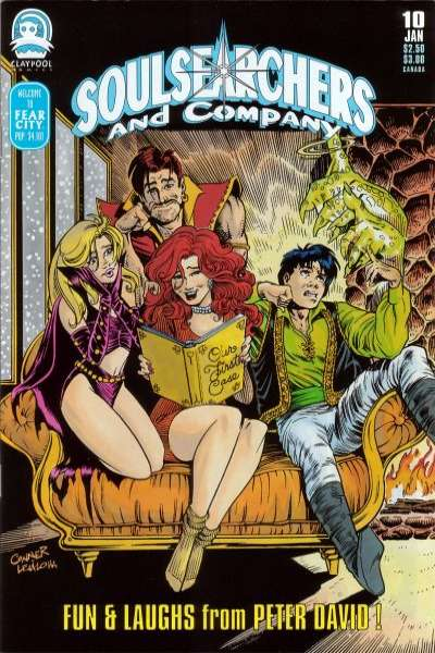 Soulsearchers and Company #10 comic books for sale
