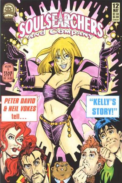 Soulsearchers and Company #12 Comic Books - Covers, Scans, Photos  in Soulsearchers and Company Comic Books - Covers, Scans, Gallery