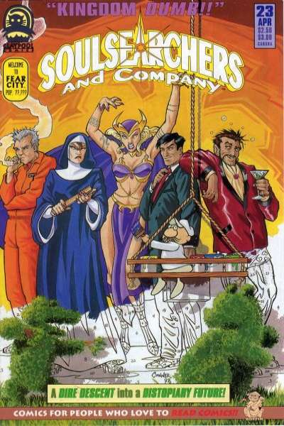 Soulsearchers and Company #23 comic books for sale
