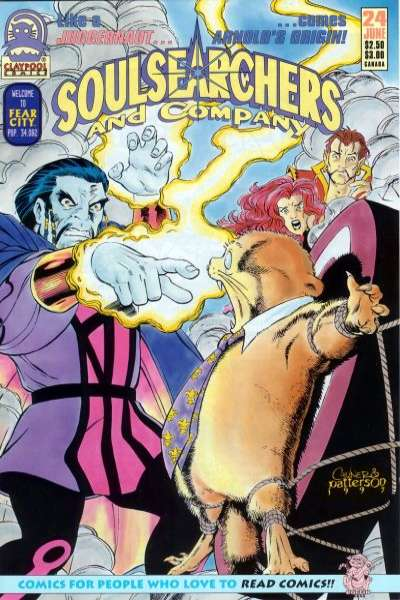 Soulsearchers and Company #24 comic books for sale