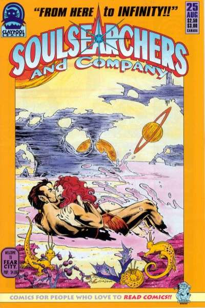 Soulsearchers and Company #25 comic books for sale