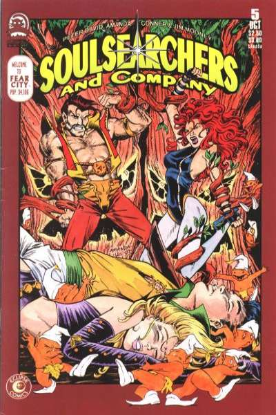 Soulsearchers and Company #5 comic books for sale