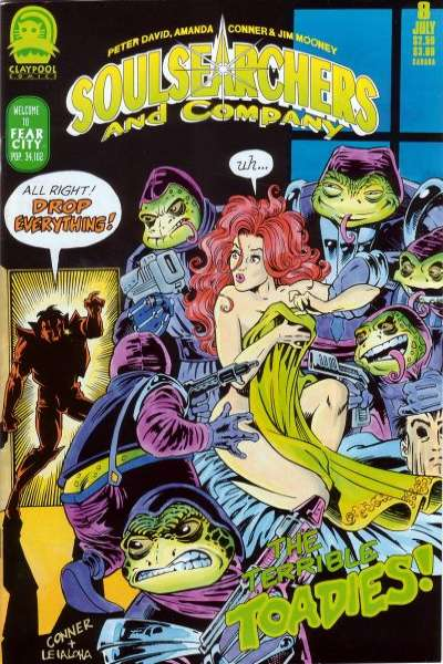 Soulsearchers and Company #8 comic books for sale