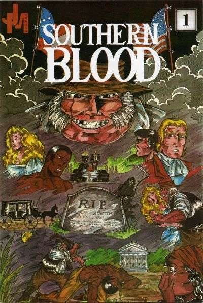 Southern Blood comic books