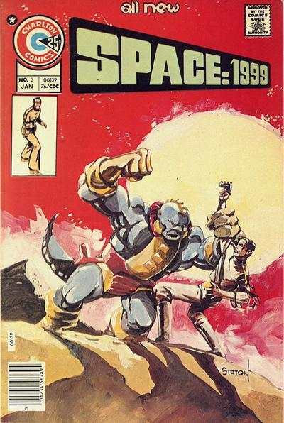 Space: 1999 #2 comic books - cover scans photos Space: 1999 #2 comic books - covers, picture gallery