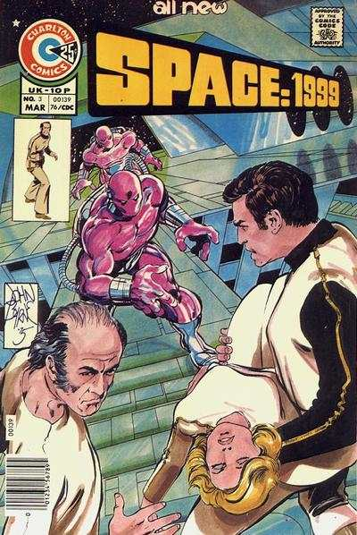 Space: 1999 #3 Comic Books - Covers, Scans, Photos  in Space: 1999 Comic Books - Covers, Scans, Gallery