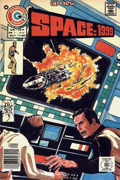 Space: 1999 #4 comic books - cover scans photos Space: 1999 #4 comic books - covers, picture gallery