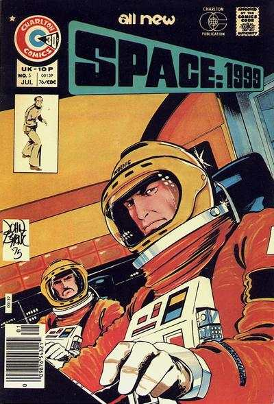 Space: 1999 #5 Comic Books - Covers, Scans, Photos  in Space: 1999 Comic Books - Covers, Scans, Gallery