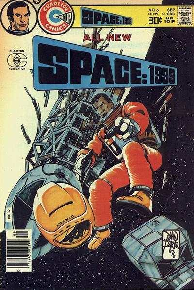 Space: 1999 #6 comic books - cover scans photos Space: 1999 #6 comic books - covers, picture gallery