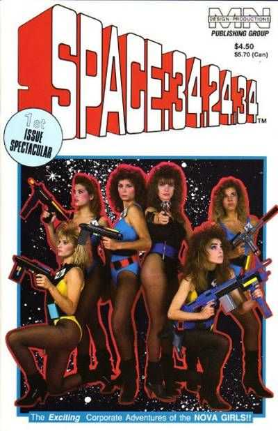 Space: 34-24-34 #1 Comic Books - Covers, Scans, Photos  in Space: 34-24-34 Comic Books - Covers, Scans, Gallery