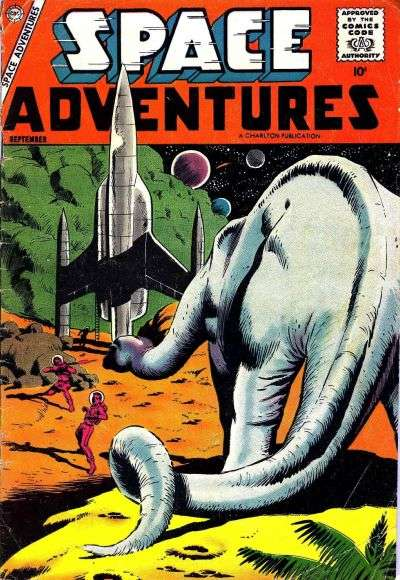 Space Adventures #25 Comic Books - Covers, Scans, Photos  in Space Adventures Comic Books - Covers, Scans, Gallery