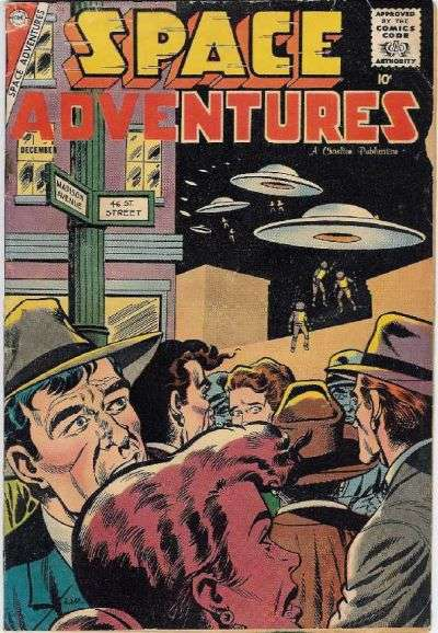 Space Adventures #26 Comic Books - Covers, Scans, Photos  in Space Adventures Comic Books - Covers, Scans, Gallery