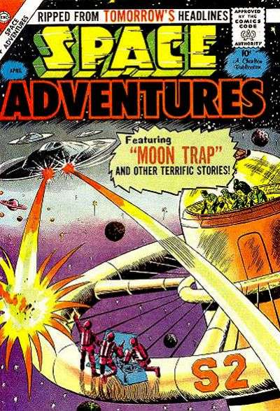 Space Adventures #28 Comic Books - Covers, Scans, Photos  in Space Adventures Comic Books - Covers, Scans, Gallery