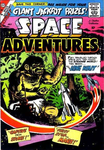 Space Adventures #29 Comic Books - Covers, Scans, Photos  in Space Adventures Comic Books - Covers, Scans, Gallery