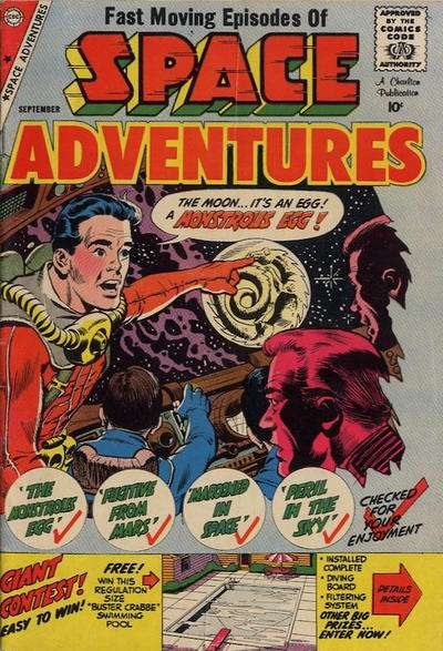 Space Adventures #30 Comic Books - Covers, Scans, Photos  in Space Adventures Comic Books - Covers, Scans, Gallery