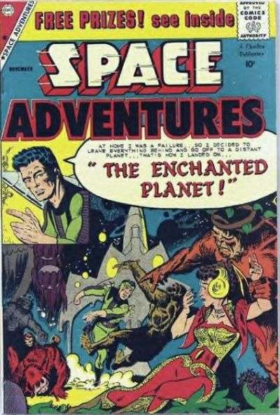 Space Adventures #31 comic books - cover scans photos Space Adventures #31 comic books - covers, picture gallery