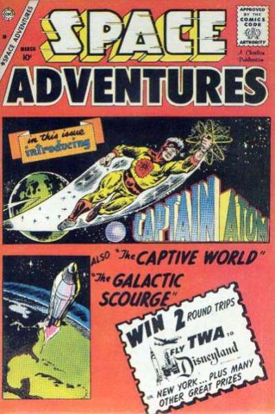 Space Adventures #33 Comic Books - Covers, Scans, Photos  in Space Adventures Comic Books - Covers, Scans, Gallery